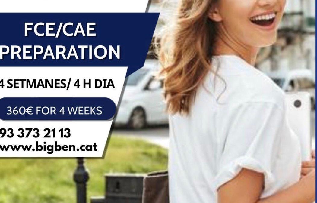 FCE/CAE PREPARATION JULY